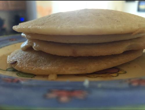 Lil Runner|Vegan gluten free pancakes